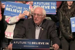 Clinton tries to hold off Sanders in NY
