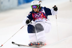 'I know I'm capable of better skiing'