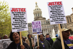 LIVE: Unrest continues in Baltimore