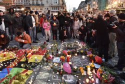 Brussels attack inspires show of solidarity