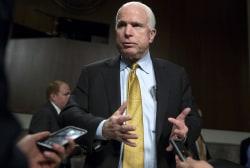 John McCain headlines DC lecture series