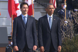 President Obama welcomes PM Justin Trudeau