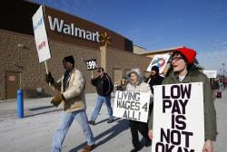 Black Friday protests rage against Wal-Mart