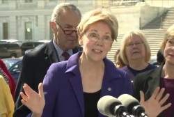 Senator Warren on success of SAVE Benefits...