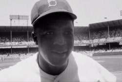 Ken Burns examines life of Jackie Robinson