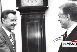 Dr. Brzezinski:  It was a 'delight' to...