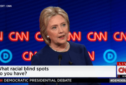 Hillary Clinton on racial blindspots