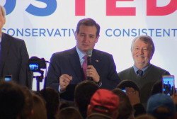 Watch Cruz' NH primary speech