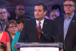Cruz jabs Trump during Super Tuesday speech