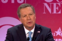 Kasich chides GOP candidates over insults