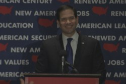 Rubio addresses supporters, suspends campaign