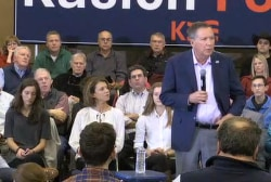 Kasich on Trump not condemning white...
