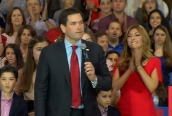 Rubio pledges to keep campaigning