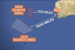 New data shifts search for missing jet