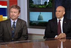 Sen. Paul and Booker in first live interview
