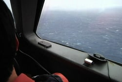 A new challenge in search for missing plane