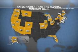 Minimum wage reform spreads throughout US