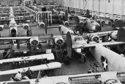 US auto industry before the decline of GE