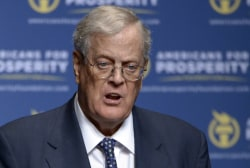 Key Koch financial influence in the midterms