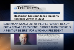 Bachmann: U.S. isn't ready for women...