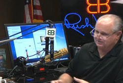 Rush Limbaugh's scandal wish-list