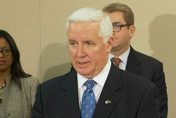 Corbett plays hookey from Governor duties