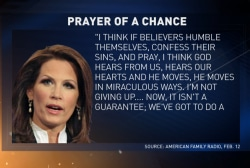 Bachmann's praying the ACA away