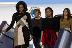 Obama women making a splash in China