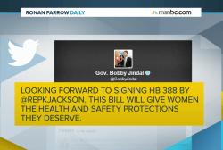 Anti-abortion bill awaits Jindal's signature