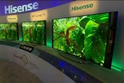 CES trend: 4K TV sets