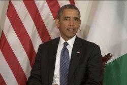 Obama: US stands with Kenya