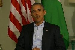 Lookahead: Obama's week