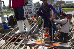 Slave labor used in Thai seafood industry