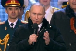 Putin declares Crimea a part of Russia