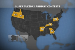 Democrats hope for gains on Super Tuesday