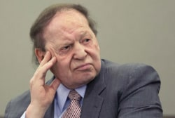 Money talks: the 'Adelson primaries'