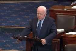 McCain's got big trouble back home
