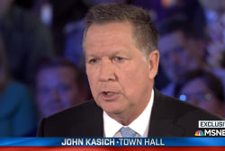 Kasich: I support traditional marriage