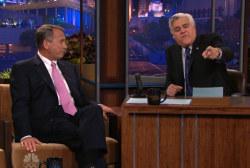 John Boehner visits 'The Tonight Show'