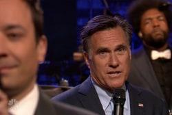 Romney 'slow jams' the news