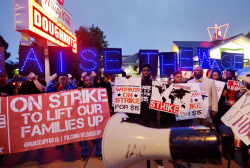 Fast food strikes go global