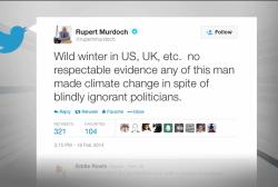 When Rupert Murdoch tweets...
