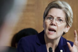 Sen. Elizabeth Warren fills political vacuum