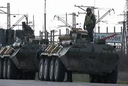 A major escalation in the Crimea crisis