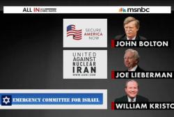 Iraq War proponents against Iran deal