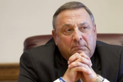 Maine Gov. denies talk of 'hanging' opponents