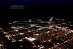 A sliver of hope in search for missing jet?