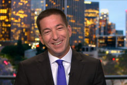 Glenn Greenwald on Oscar win, 'treason' joke