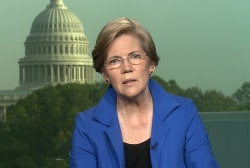 Elizabeth Warren: 'It's up to us to fight...