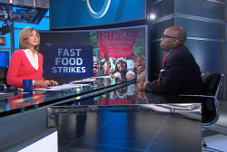 Fast-food strikes planned in 100 cities